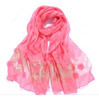 China 70x200cm fancy lady silk scarf on sale
