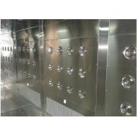 Quality Customized Air Shower Tunnel With Automatic Sliding Door And PLC Control System for sale