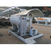 Wholesale 5tons skid lpg gas filling stationwith digital weighting scale for sale, hot sale 12,000L skid mounted propane gas plant from china suppliers