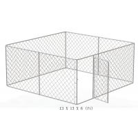 Wholesale Large outdoor galvanized cheap chain link dog kennel from china suppliers