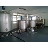 Wholesale Automatic Beverage Processing Equipment Mixing Tank Single Layer Stainless Steel from china suppliers