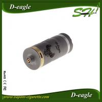 Wholesale D Eagle RBA Atomizer Tank Silver Plated Brass Pins With Double O Ring Seals from china suppliers