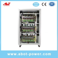 Wholesale ABOT New Product Static SCR 3 Phase 80KVA AVR AC Voltage Regulator Stabilizer from china suppliers