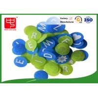 Wholesale Round Hook and loop A - Z hook and loop alphabet letters for teaching / word spell from china suppliers