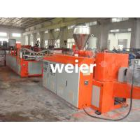 Wholesale Single Layer PVC Wave Corrugated Roof Sheeting Machine Single-Screw from china suppliers