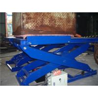 Wholesale 3.0 ton Hydraulic Motorcycle Lift , Electric Scissor Lift Customizable from china suppliers