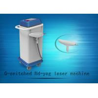 Wholesale 1064nm / 532nm Q-swiched ND YAG Laser Tattoo Removal Machine And Skin Whitening Equipment from china suppliers