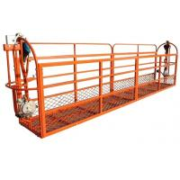 Wholesale 400 kgs Rated Load Pedal Rope Suspended Platform with Hoist 2 - 3 m/min from china suppliers