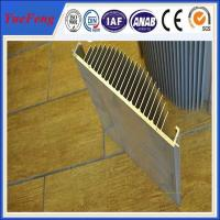 Wholesale aluminium profile extrusion heat sink,anodized aluminum alloy profile manufacturer,OEM from china suppliers