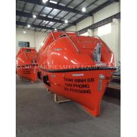 Wholesale totally enclosed life boat with davit from china suppliers