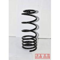 black powder coated pigtail rear coil springs for truck