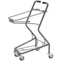 Wholesale Shopping Basket Trolley Retail Grocery Store Baskets On Wheels 565×490×930 mm from china suppliers