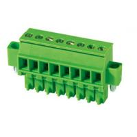 Wholesale Screw Clipping Female Connector Pluggable Terminal Block Green from china suppliers