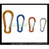 Wholesale Promotional multicolor aluminum carabiner from china suppliers
