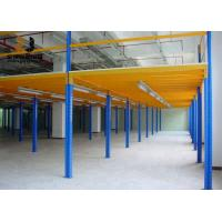 Buy cheap 500kg-4000kg/Sqm Epoxy Powder Coated Industrial Warehouse Shelving from wholesalers