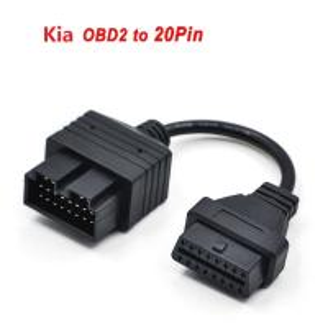 Wholesale Kia 20Pin OBD1 to 16Pin OBD2 Cable for Kia 20PIN Kia Car Diagnostic Interface OBD2 Cable from china suppliers