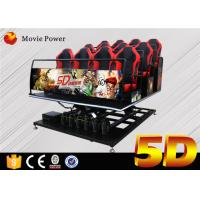 Wholesale Children Entertainment Equipment 5D Movie Theater With Special Effects from china suppliers