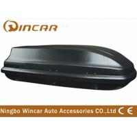 Wholesale 360L ABS carry Luggage car roof boxes Single Side black and silver from china suppliers