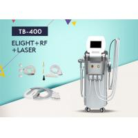 Wholesale Multifunctin 3 in 1 SHR Hair Removal RF Face Lifting / Nd Yag Laser Tattoo Removal Equipment from china suppliers