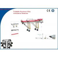 Wholesale Stainless Steel Ambulance Stretchers Foldaway Emergency Rescue Wheel Stretcher from china suppliers