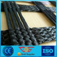 Wholesale Agriculture Poly Grid Warp Knitted Polyester Geogrid Of Biaxial / Uniaxial 30 - 200 Kn from china suppliers