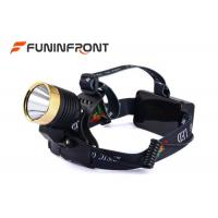 Wholesale 4 Light Gears Micro USB Rechargeable Outdoor LED Headlamp with Music from china suppliers