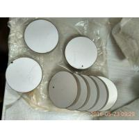 Wholesale Round 38x6mm Electrode Ultrasonic Beauty Piezoelectric Ceramic Plate from china suppliers
