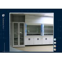 Wholesale Customized School Lab Table Top Fume Hood , Cleanroom Walk In Fume Cupboard from china suppliers