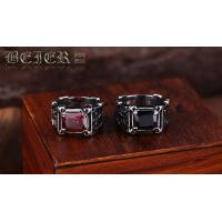 Wholesale Wholesale stainless steel Crystal Ring for men fashion jewelry E22 from china suppliers