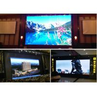 Quality P6 Full Color Former Maintenance Led Cabinet , Front Service LED Display For Indoor for sale