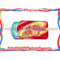 Wholesale Succulent / Savory Sugar Free Mentos Candy , Healthy Breath Mints Strawberry Flavor from china suppliers