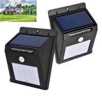 Wholesale SMD2835 * 8pcs Solar Sensor Outdoor Lights For Patio / Deck High Illumination from china suppliers