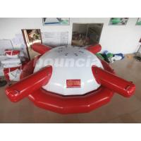 Wholesale Commercial Grade PVC Tarpaulin Inflatable Saturn Rocker For Water Games from china suppliers