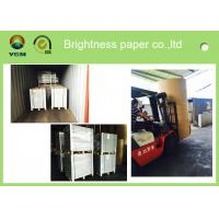 Quality Mixed Pulp Material Grey Back Duplex Board Paper Printing Area Applied for sale