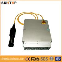 Quality 20W Mini fiber laser marking machine for plastic PVC data matrix and barcode for sale