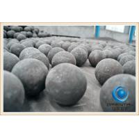 Quality Low Breakage Rate cast steel iron grinding ball Low wear resistant grinding media for sale