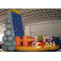Wholesale Inflatable Interactive Games Inflatable Moving Rock Climbing Wall For Sport Game from china suppliers