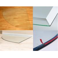 Wholesale Tempered Glass Hearth Plate Transparent Impact Resistance 8mm from china suppliers