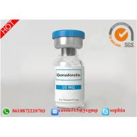 Wholesale Human Growth Hormone Somatropin , Human Growth Steroids Lyophilized Powder Gonadorelin from china suppliers