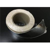 Wholesale High Temperature Resistant Fireproof High Silica Fabric Tape Aluminum Foil Coated from china suppliers