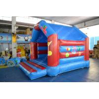 Wholesale Lovely Residential Inflatable Bounce House With Fire - Retardant 18oz Commercial PVC from china suppliers