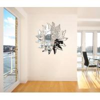Wholesale Sun Shaped Wall Mirror Sticker Acrylic To Clear Wall Paper from china suppliers