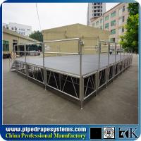 Buy cheap TUV indoor dance portable stage supplier in Shenzhen from wholesalers