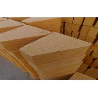 Wholesale Furnace Kiln Bottom / Wall Big Fired Clay Brick Refractory Blocks , Fire Resistant from china suppliers