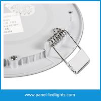Wholesale 18W Round Panel LED Lights No Flicker led recessed ceiling panel lights from china suppliers