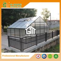 Wholesale 406x506x302cm Durable 4 Seasons Aluminum/10MM Polycarbonate Large Plant House from china suppliers