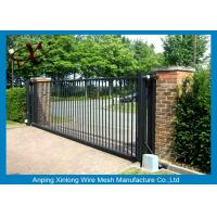 Wholesale Rot Proof Electric Sliding Gates For Driveways Galvanized / PVc Coated Surface Treatment from china suppliers