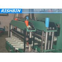 Wholesale 7.5 KW Glazed Roof Tile Metal Rolling Machine Post Cutting Step Tile from china suppliers