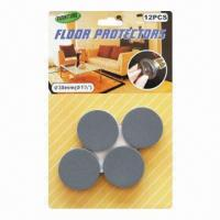 Wholesale Self adhesive round shape EVA floor scratch protector, sticky furniture pad from china suppliers