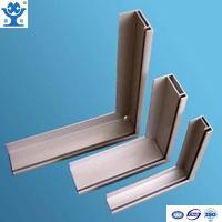 Wholesale Silver anodized matt aluminum extrusion solar panel frame from china suppliers